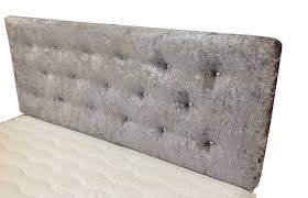 Silver Velvet Headboard by Unique Headboards Ireland 46 About Remodel Vintage Headboards With