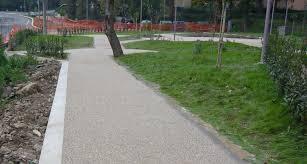 pavimentazione in ghiaia pavimento in rivestimenti di ghiaia liscio aspetto marmo da