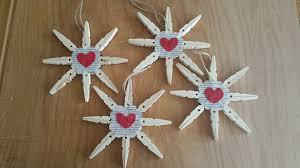 ornaments clothespin snowflakes emz corner