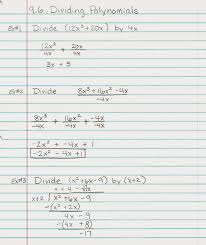 Multiply Polynomials Worksheet Algebra Alerts Algebra 1 And 2 Algebra 1 Lesson 9 6 Dividing
