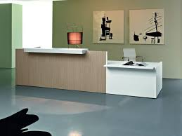 Accessible Reception Desk with Riga 03