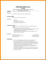 Resume Template Cashier 7 Cashier Skills Resume Mla Cover Page