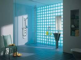 glass block designs for bathrooms glass block wall design ideas adding unique accents to eco homes