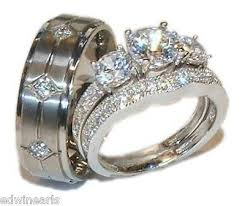 Couple Wedding Rings by 57 Best Couples Wedding Rings Images On Pinterest Couples