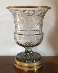 Cut Crystal Vases Antique South Street Antiques Glass