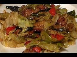 how to make the best fried cabbage youtube
