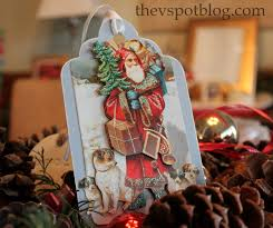 recycle your christmas cards into gift tags for next year the v