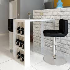 table bar cuisine design table de cuisine blanche coffee 1 chaise design moderne a