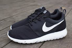 rosch runs nike roshe run marble black white cool grey sneakers