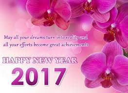 wishing you all happy new year 2017 with the collection of new