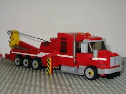 lego toyota tundra moc jamie davis heavy rescue team tow trucks from highway thru