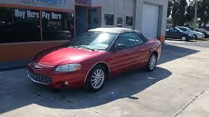 2003 Chrysler Sebring Interior 2003 Chrysler Sebring Lxi Ffv 2dr Convertible In New Port Richey