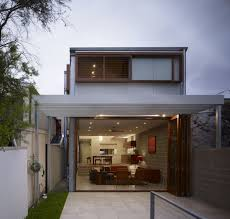 apartments comfy modern small house design with wooden sliding