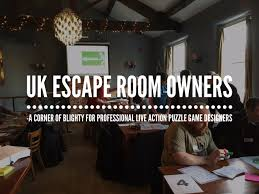 escgamesuk a roundup of our first escape room unconference