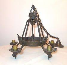 Antique Iron Chandeliers Cast Iron Chandelier Ebay