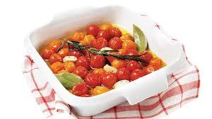 cuisiner les tomates cerises tomates cerises confites aux arômes méditerranéens
