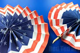diy fans 4th of july diy paper fans template summer paper crafts
