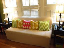 Pillow Covers For Sofa by Decor White Sofa Covers Target With White Ottoman On Decorative