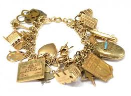 charm bracelet gold vintage images Charm bracelets still charming after all these years ronnies jpg