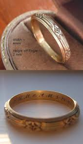 personalized rings for wedding rings custom engraved rings engraved rings for