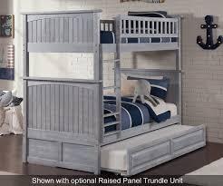 Nantucket Bedroom Furniture by Nantucket Twin Over Twin Bunk Bed Ab59108 Atlantic Furniture