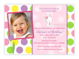 easter bunny birthday photo card invitationgirl or boy you