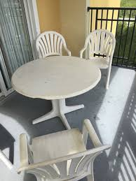 Discount Patio Furniture Orlando by Balcony Furniture Dirty Damaged And Old Picture Of Lake Buena