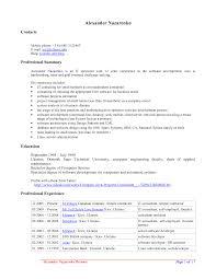 It Specialist Resume Examples Free Resume Templates Open Office Jospar