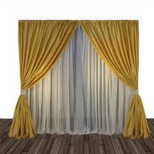 drape rental gold pipe drape 10 16 foot high 10 foot rentals columbia mo