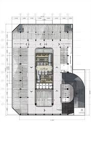 floor basement plan design proposed corporate office building high