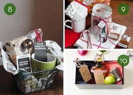 coffee gift basket ideas gift basket ideas for christmas last minute diys curbly