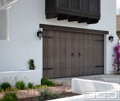 European Style Houses Spanish Garage Door Collection Custom Designed Wood Overhead