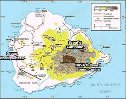 ascension islands map ascension island scout where we meet