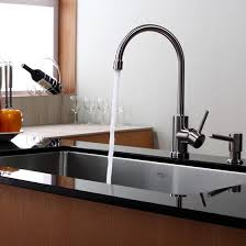 kraus kitchen faucet kraus kpf 2160 single lever stainless steel kitchen faucet
