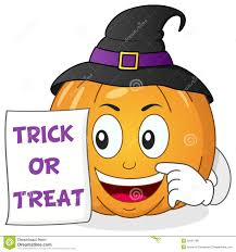 happy halloween pumpkin with witch hat stock vector image 50181788