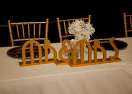 mr mrs wedding signs gatsby art deco style sweetheart table