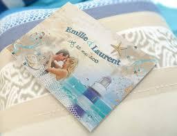 faire part mariage theme mer thème mer pour votre mariage et votre faire part créationata le