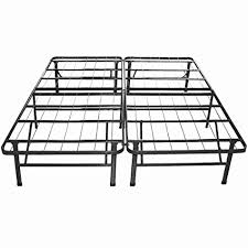 Platform Metal Bed Frame Mattress Foundation Therapy Sleep Revolution Platform Metal Bed