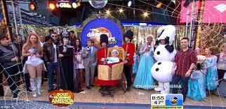 Ariana Grande Costume Halloween Gma Triumphs Halloween Morning Show Costume War Prince George