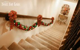 Christmas Banister Garland Pinterest Project Christmas Ornament Garland How To Nest For Less