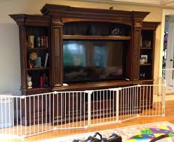 Baby Proofing Kitchen Cabinets Safety Gate In Front Of The Entertainment Center This Prevents