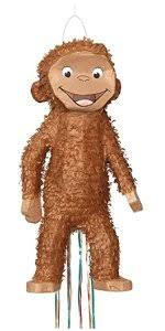 amazon curious george pinata pull string toys u0026 games