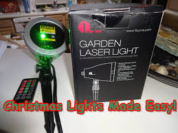 Christmas Outdoor Motion And Light Projector by Too Cool Laser Christmas Light Projector No More Light Strings