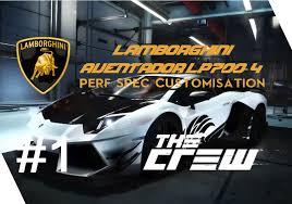 lamborghini aventador spec the crew lamborghini aventador lp700 4 perf spec customization
