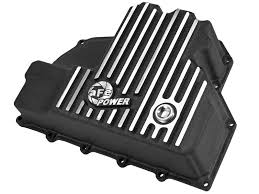 Dodge Ram Cummins Oil Pan - afe power 46 70282 engine oil pan machined fins afe power
