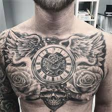 Mens Chest Tattoos - 49 wonderful chest designs and ideas you won t regret 2017