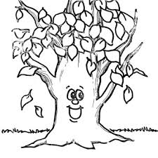 Fall Tree Coloring Page Funycoloring Tree Coloring Pages