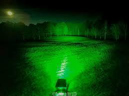 green light for hog hunting hog predator led dual color red green bar southern lite led