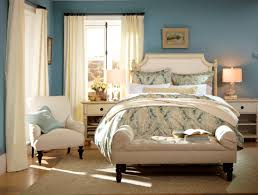 bedroom featuring paint color smokey blue sw 7604 from the