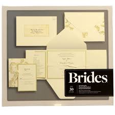brides wedding invitation kits div this kit helps you save time by the invitations